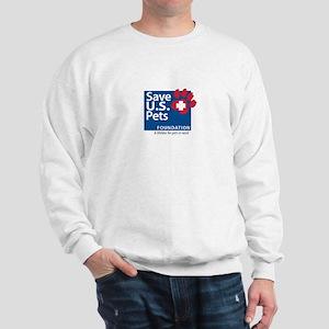 Save U.S. Pets Logo Sweatshirt