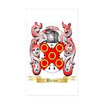 Baron Sticker (Rectangle 50 pk)