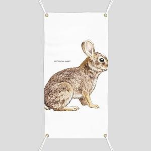 Cottontail Rabbit Banner