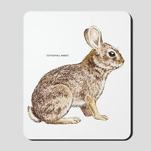 Cottontail Rabbit Mousepad