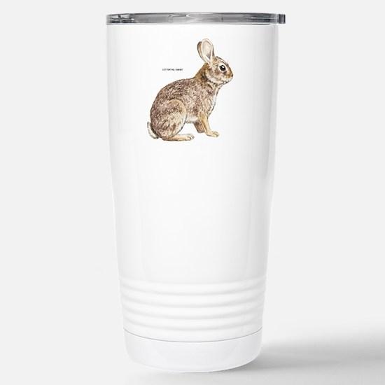 Cottontail Rabbit Stainless Steel Travel Mug
