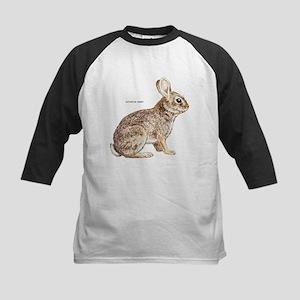 Cottontail Rabbit Kids Baseball Jersey