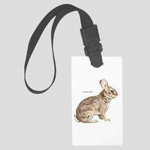 Cottontail Rabbit Large Luggage Tag