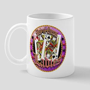 Ladies, Pocket Queens Mug