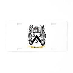 Beeston Aluminum License Plate