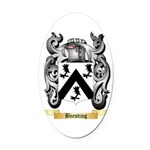 Beesting Oval Car Magnet