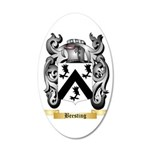 Beesting 35x21 Oval Wall Decal