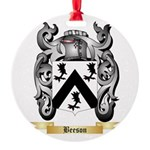 Beeson Round Ornament