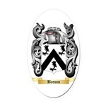 Beeson Oval Car Magnet