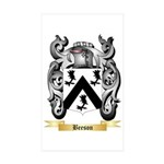Beeson Sticker (Rectangle 10 pk)