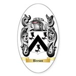 Beeson Sticker (Oval 50 pk)