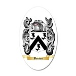 Beeson 20x12 Oval Wall Decal