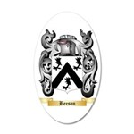 Beeson 35x21 Oval Wall Decal