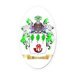 Beernaert Oval Car Magnet