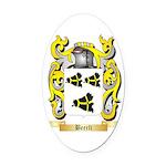 Beerli Oval Car Magnet