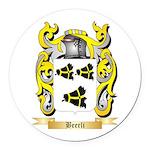 Beerli Round Car Magnet
