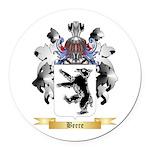 Beere Round Car Magnet