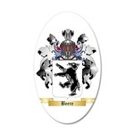 Beere 35x21 Oval Wall Decal