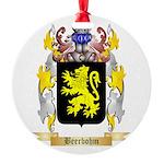 Beerbohm Round Ornament