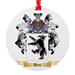 Beer Round Ornament