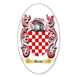 Beeke Sticker (Oval)
