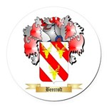 Beecroft Round Car Magnet