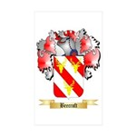 Beecroft Sticker (Rectangle 50 pk)