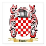 Beecker Square Car Magnet 3