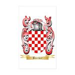 Beecker Sticker (Rectangle 50 pk)