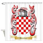 Beecker Shower Curtain