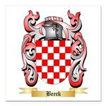 Beeck Square Car Magnet 3