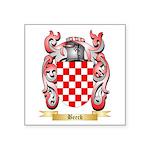 Beeck Square Sticker 3
