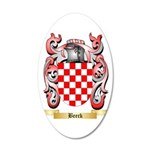 Beeck 35x21 Oval Wall Decal