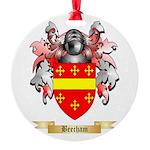 Beecham Round Ornament