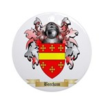 Beecham Ornament (Round)