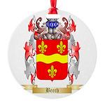 Beech Round Ornament