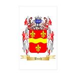 Beech Sticker (Rectangle 50 pk)