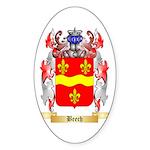 Beech Sticker (Oval 50 pk)