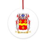 Beech Ornament (Round)