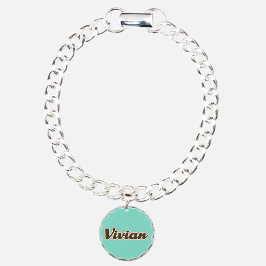 Vivian Aqua Bracelet