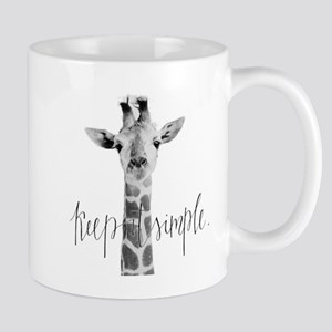 Simple Giraffe Mug