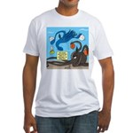 Squid Ball Fitted T-Shirt