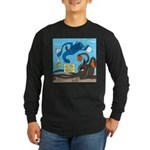Squid Ball Long Sleeve Dark T-Shirt