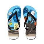 Squid Ball Flip Flops
