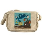 Squid Ball Messenger Bag