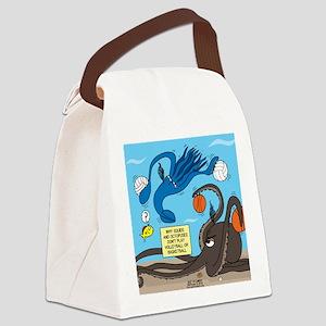 Squid Ball Canvas Lunch Bag