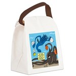 Squid Ball Canvas Lunch Bag