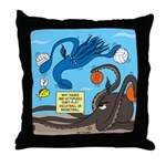 Squid Ball Throw Pillow