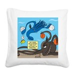 Squid Ball Square Canvas Pillow