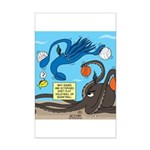 Squid Ball Mini Poster Print
